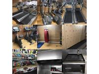 Complete Commercial gym setup equipment for sale