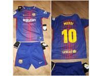 Barcelona messi kit age 8-10yrs
