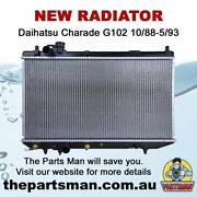 Radiator 1.3L 4Cyl Daihatsu Charade G102 10/88-5/93 Adelaide CBD Adelaide City Preview