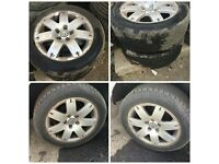 "Vw Passat 205-55-16 "" Alloy wheels and Tyres Set of Four"