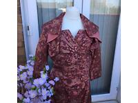 Beautiful 100% Silk Designer Mother Of The Bride/Groom Wedding Outfit