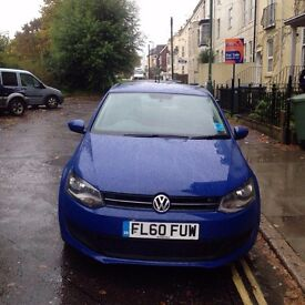 2011 VW POLO SE 1.4 SPORT ALLOYS CAT D REAR DAMAGE NOW REPAIRED WITH ONLY 46,000 MILES