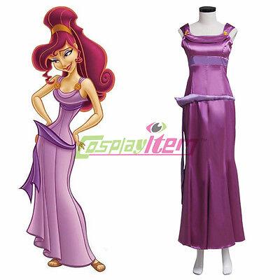 Princess Megara Costume Hercules Wife Meg dress adult princess Cosplay (Meg Costume)