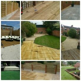 SLABBING - FENCING - TURFING - ARTIFICIAL TURF - DECKING - GARDEN CLEARANCES & MORE TAKE A LOOK ....