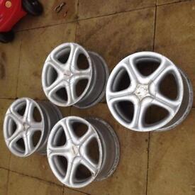 "Bmw 15"" alloy wheels e36 e46"
