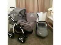 3 in 1 Jaguar Pushchair like new. Only used 1 month!!!
