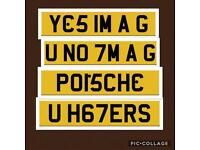 Private number plate plates QUICKSALE Registration Cherished u haters Porsche u know I'm a g