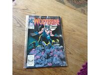 Wolverine - first issue of wolverine's own comic