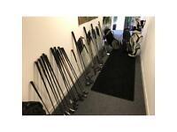 Matched sets of golf clubs , irons ,woods ,putters and bags all great sets from £60