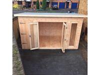 Bespoke wooden shed