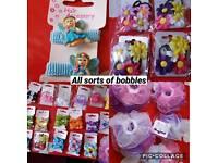 Kids bobbles & clips