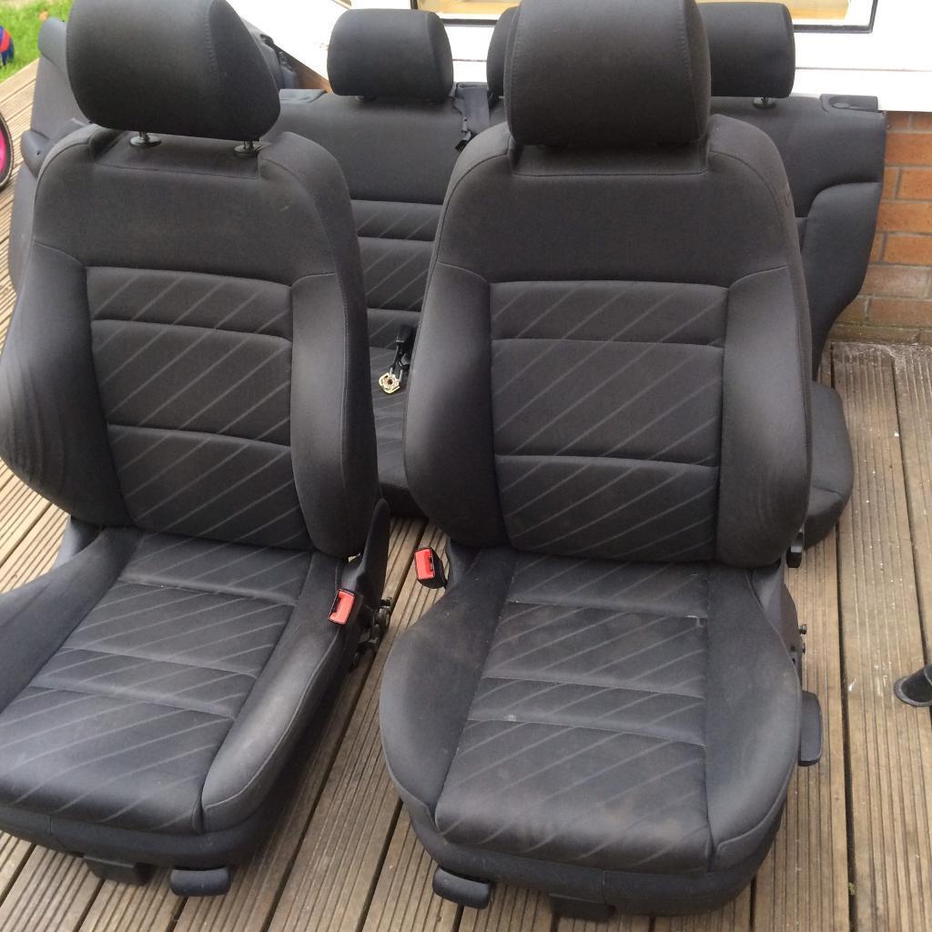 2002 audi a3 8l 5 door full set of sport seats recaro for Salon recaro golf 4