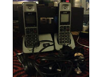 BT 750 Freestyle Twin with Answer phone