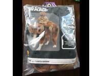 Bantha pet costume shirt with rider