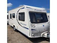 Bailey pageant Monarch, 15ft 2 berth end washroom,motor mover,FSH,VGC