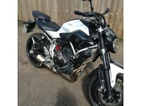 Yamaha MT07. 2014, 700cc motorbike. Only 1,225 miles from new.
