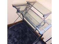 Selling Cheap! Excellent Condition Glass Computer Desk