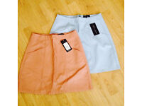 brand new TOPSHOP skirts size 38