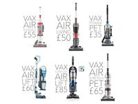 Free delivery vax air pet bagless upright vacuum cleaner hoovers RRP £150-£220