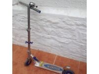 Chrome children's scooter