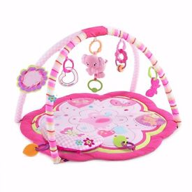 For sale Baby girl bright star playmat in good condition