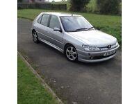 X Peugeot 306hdi diesel mot low tax n insurance top spec services history £395