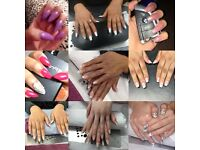 Acrylic nail extension-£15( with a free 1/2 arm wax/or 1/2 leg wax)