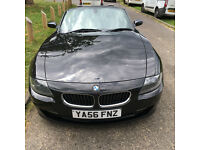 BMW Z4 2 litre Sport Convertible Black