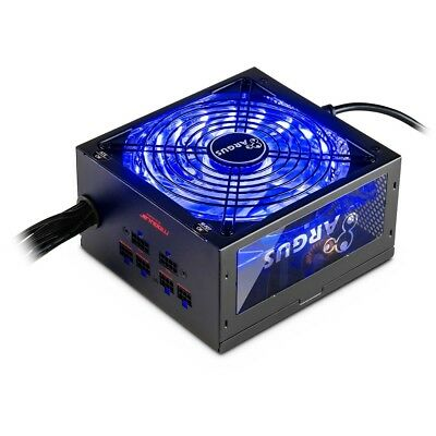 Argus 750 Watt 80+ Gold RGB Netzteil Gaming Beleuchtet Farben wechselbar Modding