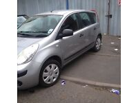 NISSAN NOTE 2006 1.4 MANUAL HPI CLEAR