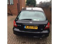 Honda Civic 1.6L Petrol for quick sale **no silly offers**