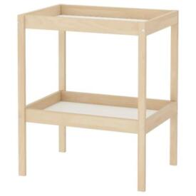 Baby changing table - ikea