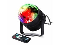 lederTEK Voice Control Stage Lamp, Stage Lighting Bulbs with 7 Colors Disco Light,