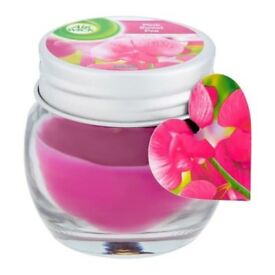 Airwick Jar Candle Pink Sweet Pea 30g