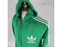 Adidas jacket zip up excellent