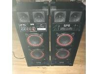 Spb 600 watts do speakers
