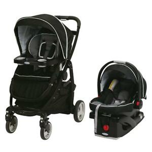 NEW Graco Modes Click Connect Travel System, Onyx