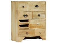 Chest of Drawers 60x30x75 cm Solid Mango Wood-247579