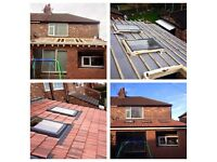 Watertight roofing and building