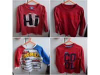 14 boys long sleeved tops/jumpers/shirt size 2-3