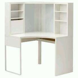Ikea Micke corner desk white brand new