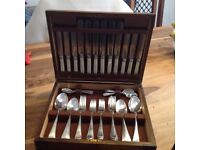 Lovely Vintage Canteen of Cutlery