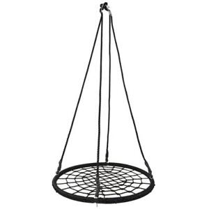 NEW 40 IN OUTDOOR GARDEN SPIDER WEB SWING