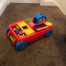 Fisher Price pull along cart