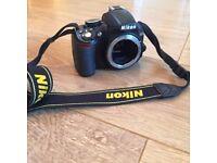 Nikon D3100 14.2MP DSLR Camera- Original box, as new condition