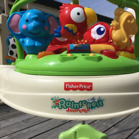 Jumperoo Fisher Price Bouncer Jungle Edition As New w Box