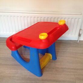 Toddler Art Desk/ Table