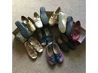 Ladies footwear (most are Hotter brand)in sizes 4.5 and 5 and size 4 hotter slippers