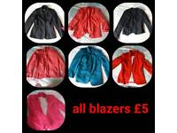 Ladies blazer Jackets 8 or 10