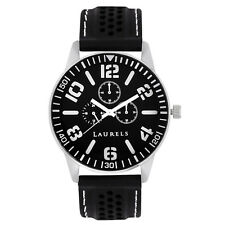 Laurels Excess Analog Black Dial Men's Watch - Lo-Excess-0202